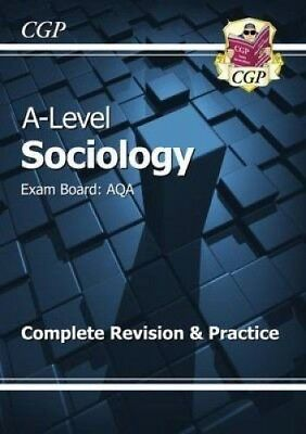 £15 • Buy CGP A-level Sociology AQA Complete Revision And Practice