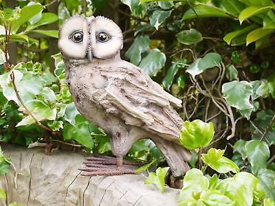Adorable Wood Effect Owl Statue • 62.99£