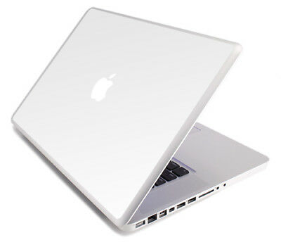 $8.99 • Buy WHITE Vinyl Lid Skin Cover Decal Fits Apple MacBook Pro 17 A1297 Laptop