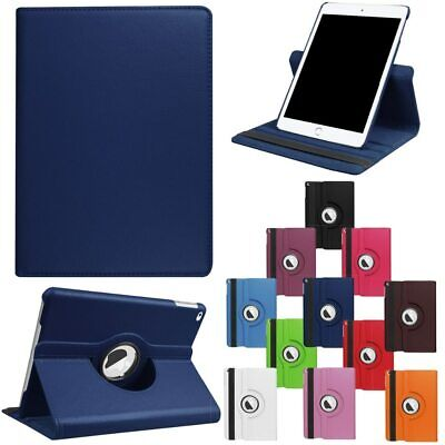 $6.96 • Buy For IPad Mini 4 5 Smart Cover Leather 360 Rotating Stand Case + Screen Protector