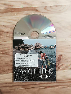 Crystal Fighters Plage Promo CD 2011 Zirkulo Records • 2.99£