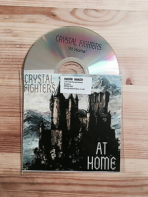 Crystal Fighters At Home Promo CD 2011 Zirkulo Records • 2.99£