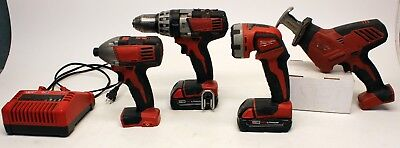 Sale Milwaukee 18v Cordless Drill & Saw Set, Model 2719-20 Series Free Shipping • 191.67£