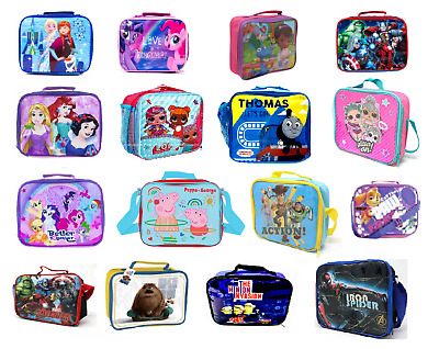 Kids' Children's Insulated School Lunch Bag Box Packed Dinner Food Picnic Bag • 11.50£