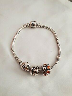 £140 • Buy Pandora Braclet With Charms And Box