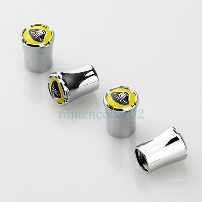 $ CDN11.52 • Buy 1Set Alloy New Car Accessories Logo Tyre Valve Caps Dust Stems Cover For Lotus