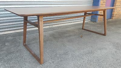 AU300 • Buy Clearance Sale ! NEW FRENCH INDUSTRIAL WOODEN DINING TABLE - T317 (240 X 100cm)