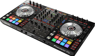 $999 • Buy Pioneer DDJ-SX3 DJ Controller Serato W/ 4-Channel Mixer Built In & Dual USB