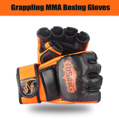 AU30.95 • Buy RISING Grappling MMA Boxing Gloves Punching Training Sparring Fighting Wraps UFC