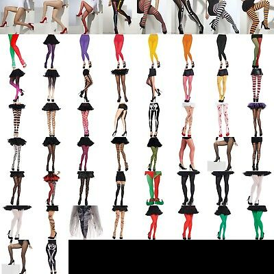 Ladies Tights Hosiery Accessory Fancy Dress Costume Everyday Lot Theatre Show • 4.40£
