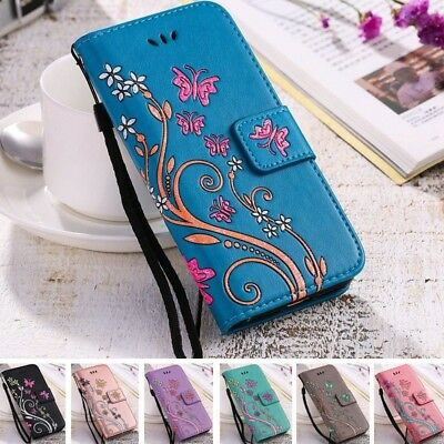 AU11.99 • Buy Women Girl Flip Wallet Leather Case Cover For Apple IPhone X 8 7 6S 6 Plus 5 5S