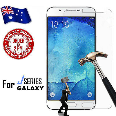 AU5.99 • Buy Tempered Glass Screen Protector Film For Samsung Galaxy J2 J3 J5 J7 Pro 2017 18
