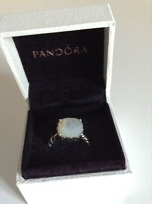 Pandora Mother Of Pearl Ring • 80£