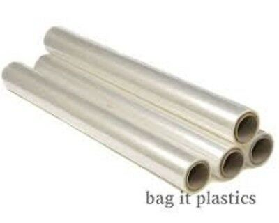 CELLOPHANE FLORIST FLOWER WRAP CLEAR GIFT FILM 80cm / 800mm WIDE VARIOUS LENGTHS • 6.30£