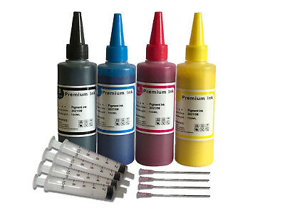 Pigment Ink For Refilling HP953 903 Ink Cart Refill Kit With Needle And Syringe • 15.99£