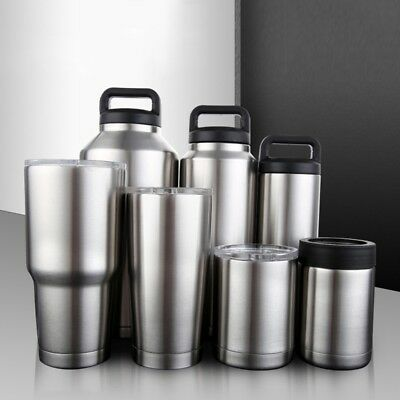 AU24.05 • Buy Stainless Steel Thermos Cup Travel Drinking Vacuum Bottle Flask Warm/Cold Keeper