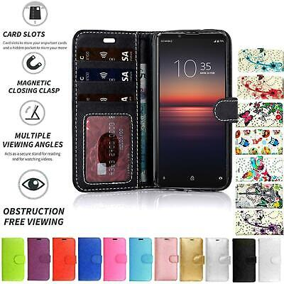 AU5.33 • Buy PU Leather Book Wallet Flip Stand Case Pouch For Sony Xperia XZ Premium