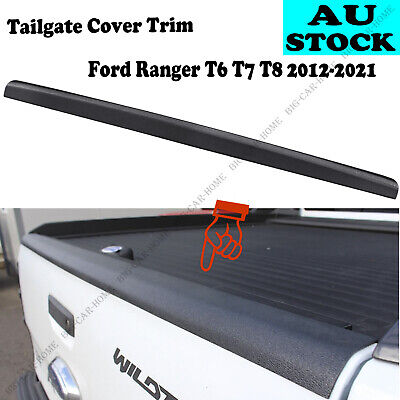 AU60 • Buy 1pcs Tailgate Rail Guard Cap Protector Rear Cover For Ford Ranger 2012-2020