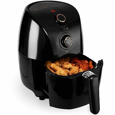 View Details VonShef Air Fryer Low Fat Healthy Cooker Oil Free Frying Chip Fry Black 1.5L  • 29.99£