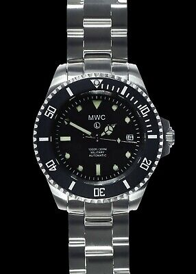 $ CDN492.44 • Buy MWC 24 Jewel | 300m | Automatic Military Divers Watch | ARC Sapphire Crystal