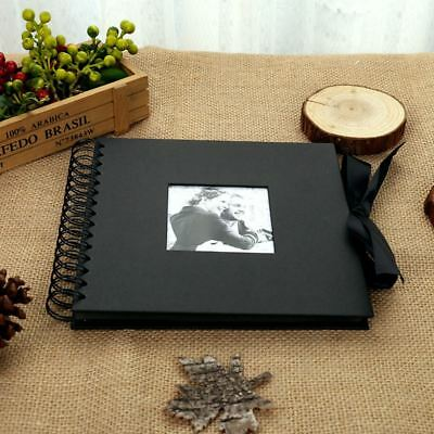 AU18.99 • Buy 40 Pages Photo Album Memo Book Paste DIY Scrapbook Valentines Day Wedding Gifts