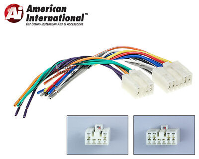 $9.99 • Buy Toyota Plugs Into Factory Radio Car Stereo CD Player Wiring Harness Wire Install