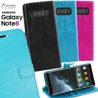 $ CDN6.71 • Buy Wallet Flip Card Slot Stand Case Cover For Samsung Galaxy Note 9 / Note 8