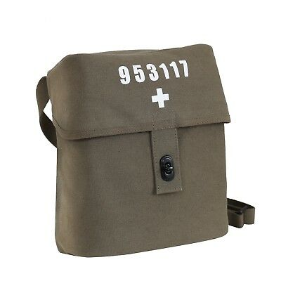 Swiss Military Cotton Canvas Shoulder Bag Rothco 8111 • 10.36£