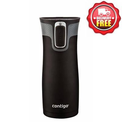 AU39.95 • Buy Contigo West Loop Autoseal Insulated Thermo Coffee Travel Mug Bottle 473ml Black