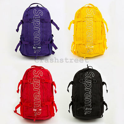 $ CDN359.27 • Buy Supreme FW18 Backpack Box Camp Cap Tee Logo Bag Shoulder Waist Duffle Camo