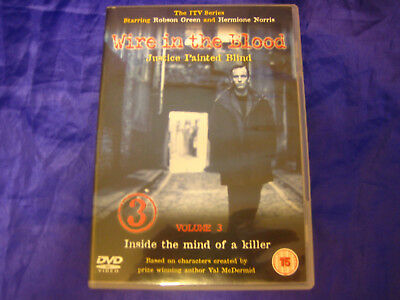 £2 • Buy Wire In The Blood Justice Painted Blind VOL 3 DVD