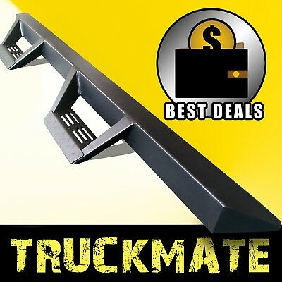 $195.95 • Buy 1999-2015 For Ford F250 SD Crew Cab Tri-Angular Running Boards Steps Nerf Bar