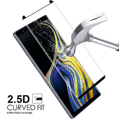 $ CDN10.99 • Buy Case Friendly Tempered Glass Screen Protector Samsung Galaxy Note 9 S9 / S8 Plus