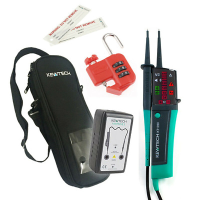Kewtech KEWISO2 Isolation Kit With KT1780 Voltage Tester Proving Unit And More • 140£