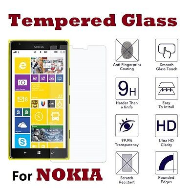 AU6.23 • Buy Tempered Glass Screen Protector Premium Protection For Nokia 7 Plus (6 Inch)