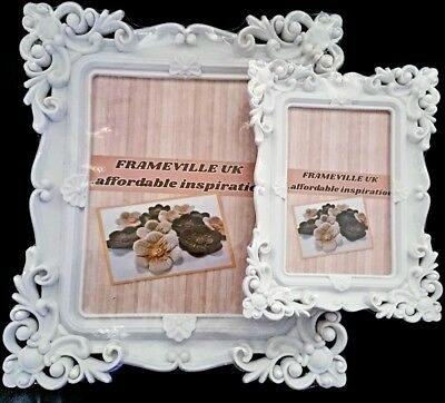 £0.99 • Buy Baroque Shabby Chic Photo Frame Vintage Rococo Style Wedding Gift Placecard Home