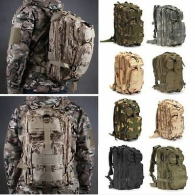 AU38 • Buy 30L Outdoor Hiking Camping Bag Army Military Tactical Rucksack Backpack Trekking