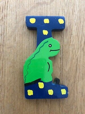 £1.20 • Buy Hand Painted Wooden Animal Letters: I (Iguan A) 7cm