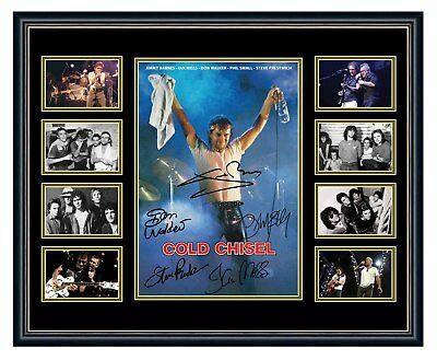 AU94.99 • Buy Cold Chisel Jimmy Barnes Signed Limited Edition Framed Memorabilia