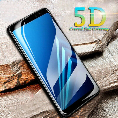 AU7.99 • Buy 5D Full Coverage Samsung Galaxy J5 Pro Tempered Glass Screen Protector Guard