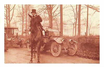 £1.99 • Buy Nostalgia Postcard Challenge Cars Meet The Hunt 1912 Reproduction Card NS22