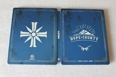 AU33.75 • Buy Far Cry 5 Hope County PS4 PC XBOX G2 SIZE STEELBOX METAL CASE
