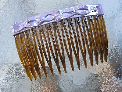 Vintage Art Deco Hair Side Comb 2 3/4  Comb NEW Made In USA 005 • 8.06£