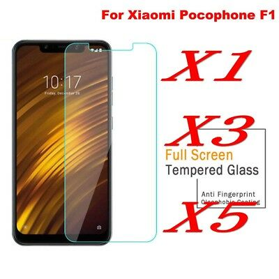 AU3.41 • Buy HIGH QUALITY PREMIUM REAL TEMPERED GLASS SCREEN PROTECTOR FORXiaomi Pocophone F1