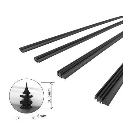 $ CDN1.45 • Buy 1PC 26  6mm Silicone Frameless Wiper Blade Refill For Car Windshield Universal