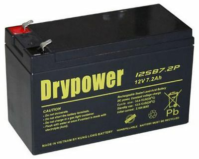AU25.95 • Buy NBN Replacement Battery-Drypower 12 Volt 7.2 Amp