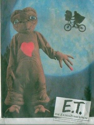 $39.99 • Buy OOP E.T. Extra Terrestrial Costume Sewing Pattern Childs McCall's 8311 ET E T