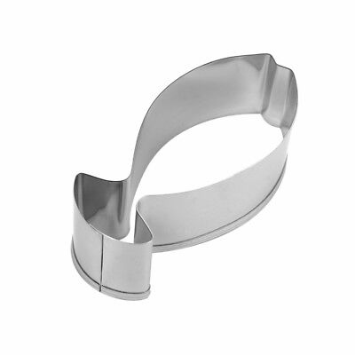 Metal 6.6cm Fish Shaped Cookie Pastry Cutter • 1.79£