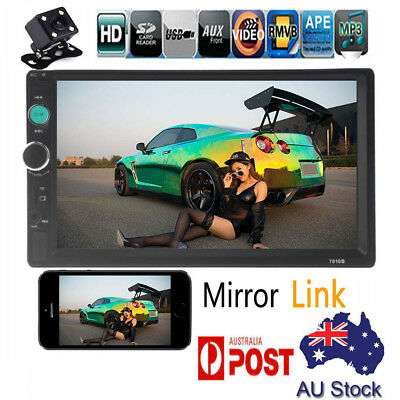 AU61.99 • Buy 7'' Double 2DIN Touch Car Stereo Radio MP5 MP3 Player Head Unit Bluetooth USB/FM