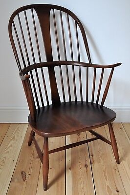 Vintage Retro 60's Ercol Ercol Windsor Chairmakers Fireside Armchair (model 911) • 525£